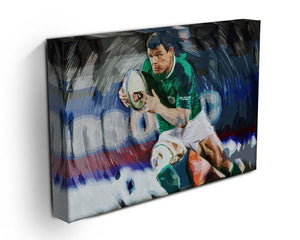 Brian ODriscoll Canvas Print or Poster - Canvas Art Rocks - 3