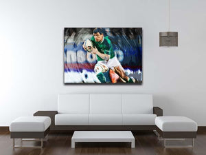 Brian ODriscoll Canvas Print or Poster - Canvas Art Rocks - 4