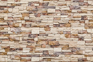 Brick wall Wall Mural Wallpaper - Canvas Art Rocks - 1