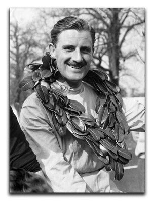 British racing driver Graham Hill Canvas Print or Poster  - Canvas Art Rocks - 1