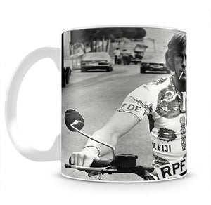 British racing driver James Hunt Mug - Canvas Art Rocks - 2
