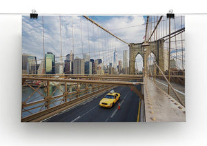 Brooklyn Bridge in New York City Canvas Print or Poster - Canvas Art Rocks - 2