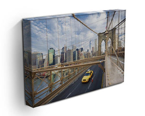 Brooklyn Bridge in New York City Canvas Print or Poster - Canvas Art Rocks - 3
