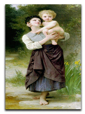 Brother And Sister By Bouguereau Canvas Print or Poster  - Canvas Art Rocks - 1