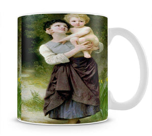 Brother And Sister By Bouguereau Mug - Canvas Art Rocks - 1