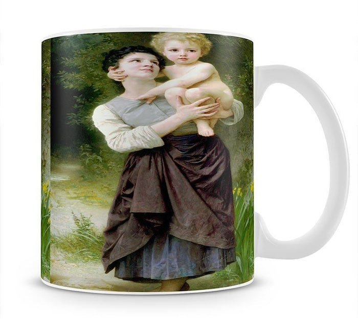 Brother And Sister By Bouguereau Mug