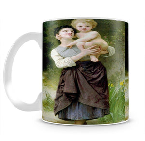 Brother And Sister By Bouguereau Mug - Canvas Art Rocks - 2