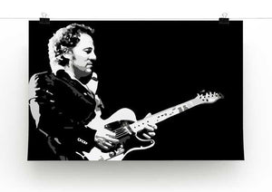 Bruce Springsteen Print - Canvas Art Rocks - 2