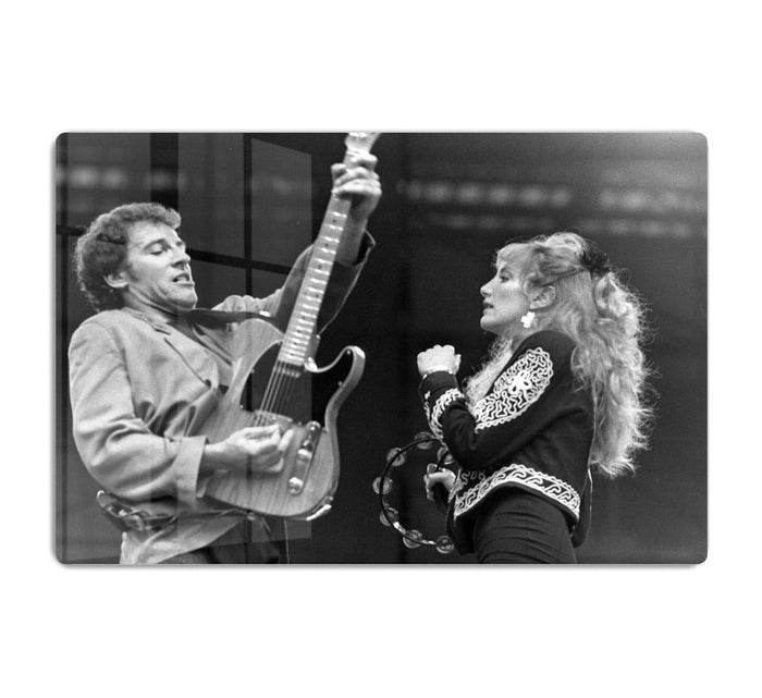 Bruce Springsteen and Patti Scialfa HD Metal Print