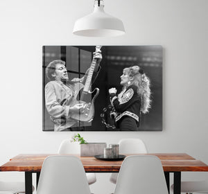 Bruce Springsteen and Patti Scialfa HD Metal Print - Canvas Art Rocks - 2