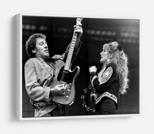 Bruce Springsteen and Patti Scialfa HD Metal Print - Canvas Art Rocks - 7