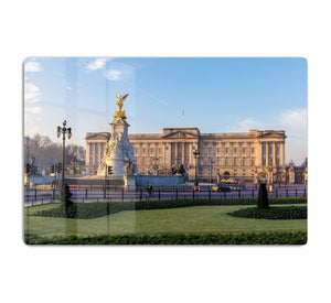 Buckingham palace in early winter morning HD Metal Print