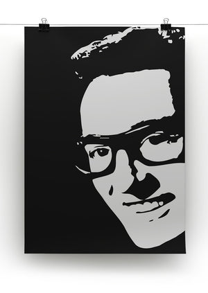 Buddy Holly Print - Canvas Art Rocks - 2