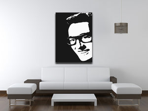 Buddy Holly Print - Canvas Art Rocks - 4