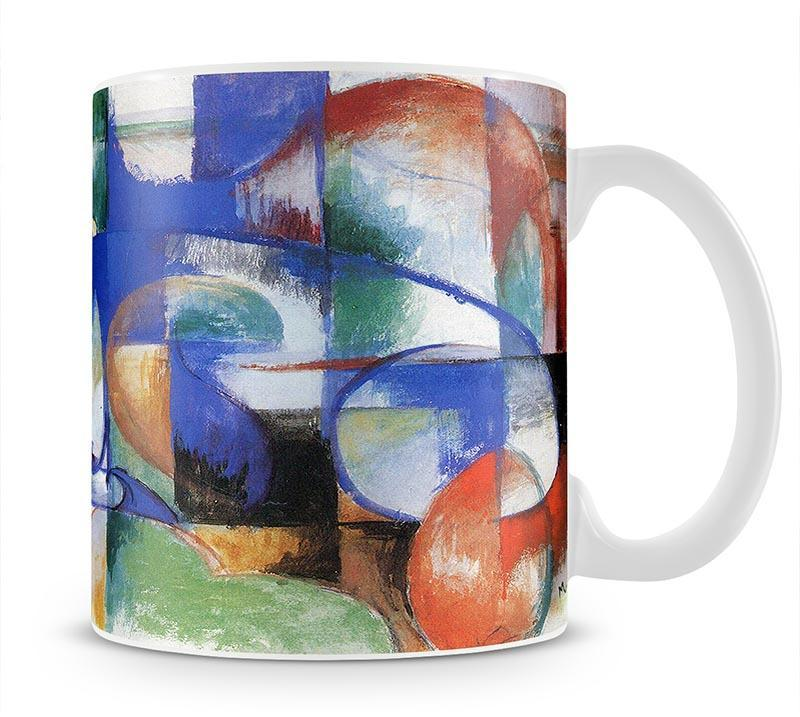 Bull by Franz Marc Cup - Canvas Art Rocks - 1