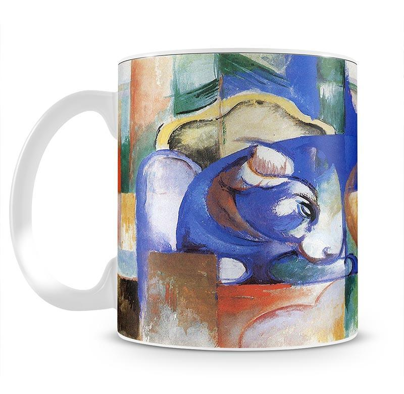 Bull by Franz Marc Cup - Canvas Art Rocks - 2