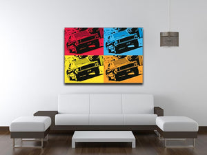 Bullitt Pop Art Canvas Print & Poster - US Canvas Art Rocks