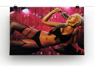Christina Aguilera Burlesque Print - Canvas Art Rocks - 2
