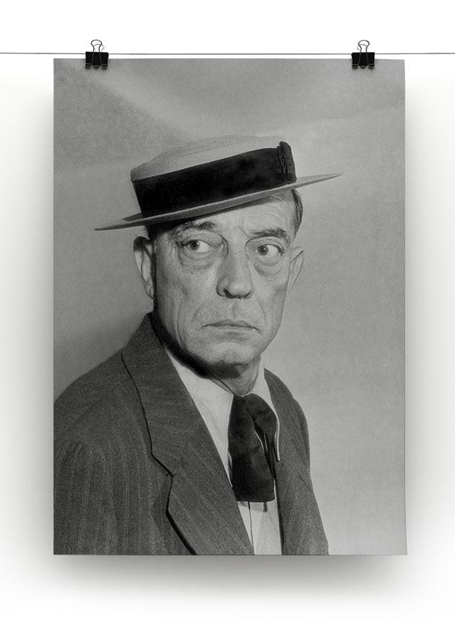 Buster Keaton Canvas Print or Poster - Canvas Art Rocks - 2