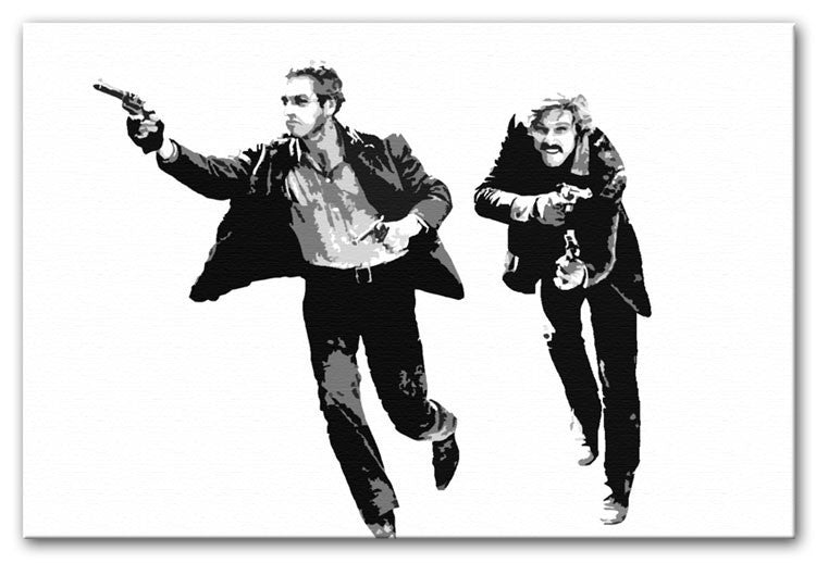 Butch Cassidy and the Sundance Kid Print - Canvas Art Rocks - 1