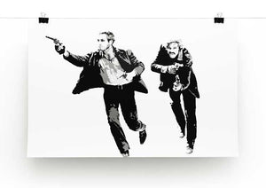 Butch Cassidy and the Sundance Kid Print - Canvas Art Rocks - 2