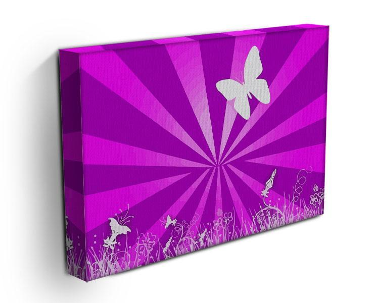 Butterfly Abstract Canvas Print or Poster - Canvas Art Rocks - 3
