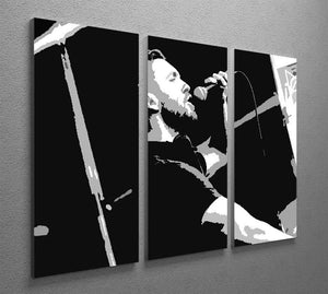 Calvin Harris 3 Split Panel Canvas Print - Canvas Art Rocks - 2