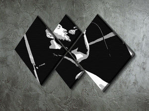 Calvin Harris 4 Square Multi Panel Canvas - Canvas Art Rocks - 2