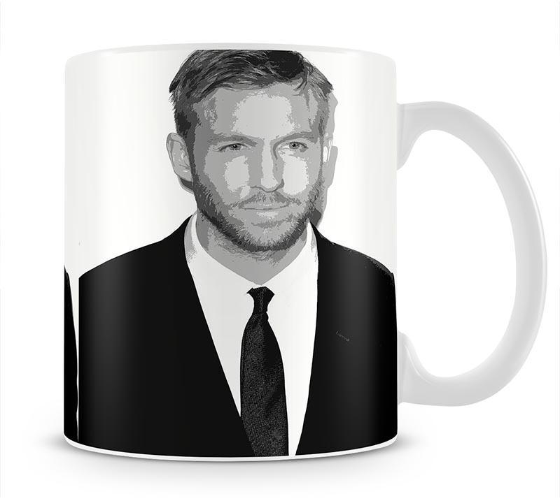 Calvin Harris Black And White Mug - Canvas Art Rocks - 1