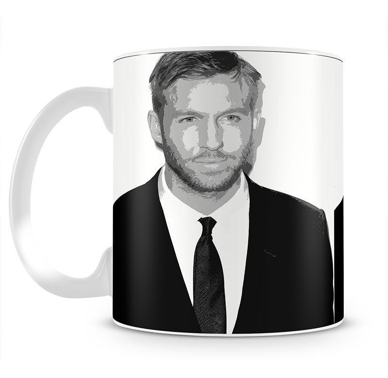 Calvin Harris Black And White Mug - Canvas Art Rocks - 2