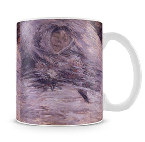 Camille Monet sur son lit de mort by Monet Mug - Canvas Art Rocks - 4