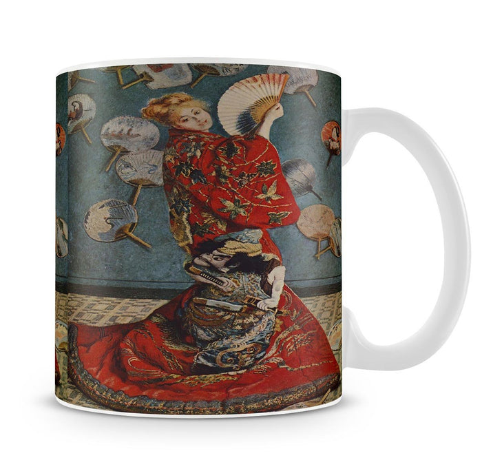 Camille in Japanese dress by Monet Mug