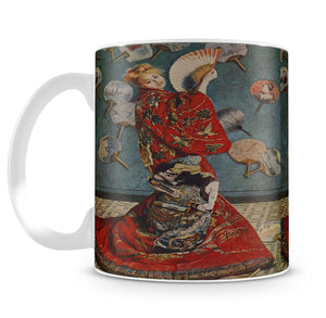 Camille in Japanese dress by Monet Mug - Canvas Art Rocks - 4