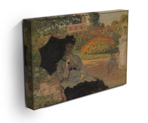 Camille in the garden with Jean and his nanny by Monet Canvas Print & Poster - Canvas Art Rocks - 3