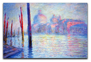 Canal Grand by Monet Canvas Print & Poster  - Canvas Art Rocks - 1