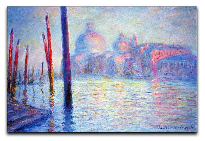 Canal Grand by Monet Canvas Print or Poster