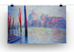 Canal Grand by Monet Canvas Print & Poster - Canvas Art Rocks - 2