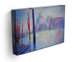 Canal Grand by Monet Canvas Print & Poster - Canvas Art Rocks - 3