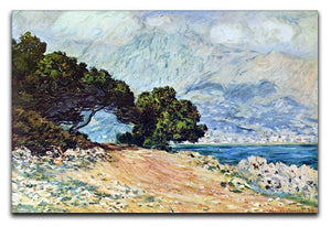 Cape Martin in Menton by Monet Canvas Print & Poster  - Canvas Art Rocks - 1