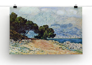 Cape Martin in Menton by Monet Canvas Print & Poster - Canvas Art Rocks - 2