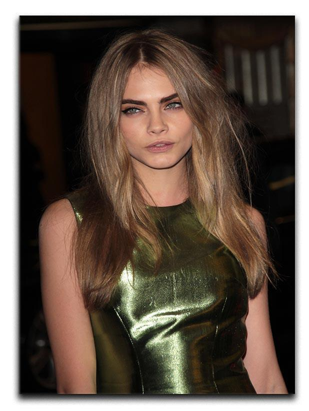 Cara Delevingne Canvas Print or Poster  - Canvas Art Rocks - 1