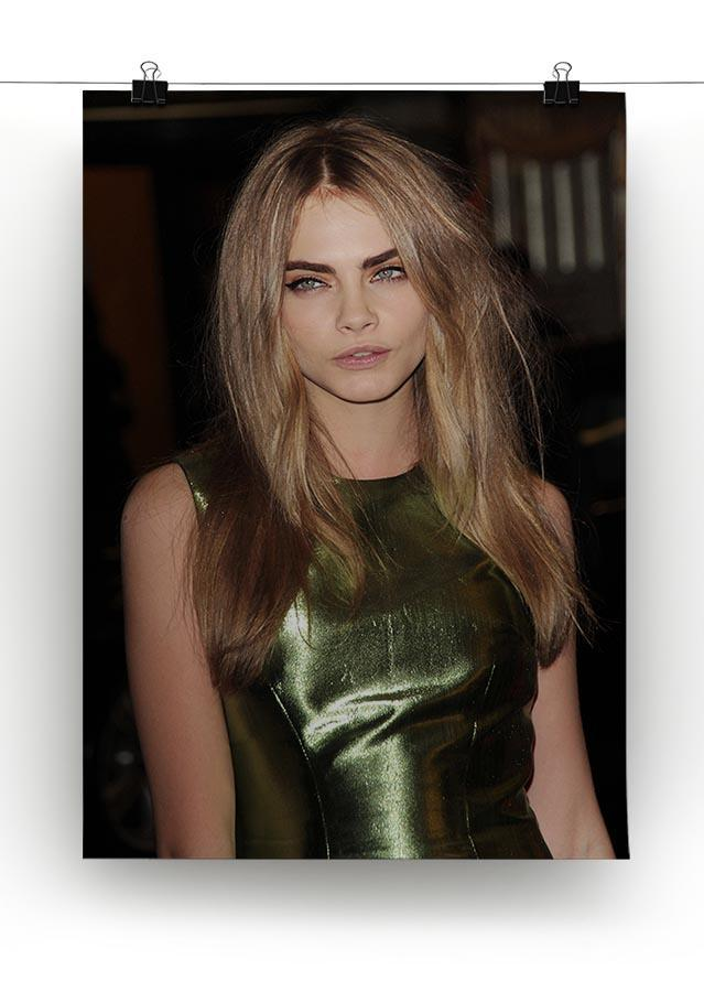 Cara Delevingne Canvas Print or Poster - Canvas Art Rocks - 2
