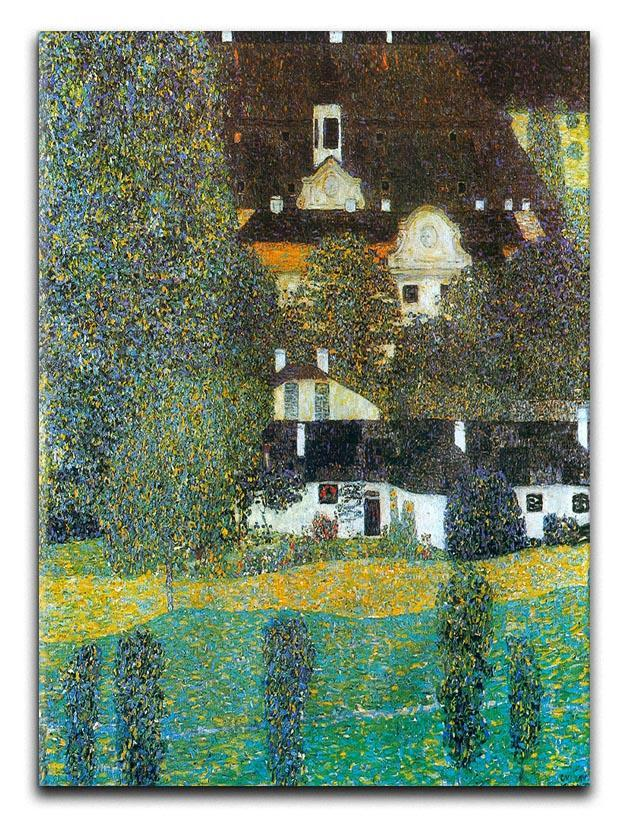 Castle Chamber at Attersee II by Klimt Canvas Print or Poster  - Canvas Art Rocks - 1