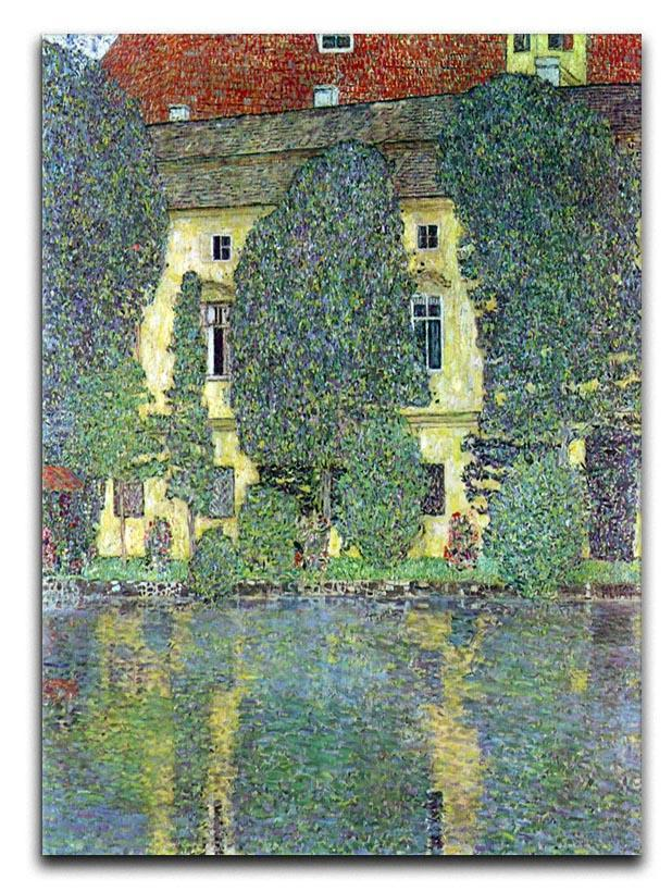 Castle at the Attersee by Klimt Canvas Print or Poster  - Canvas Art Rocks - 1