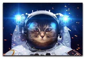Cat in Space Canvas Print or Poster  - Canvas Art Rocks - 1
