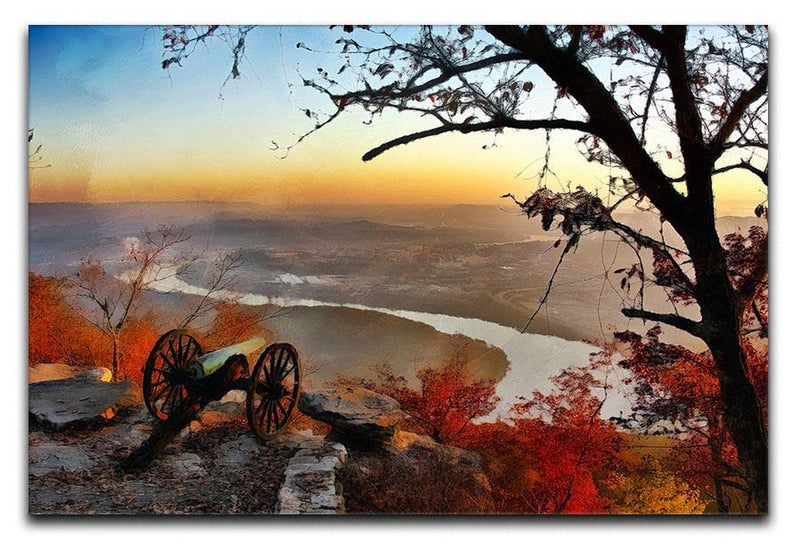 Chattanooga Campaign Painting Canvas Print or Poster  - Canvas Art Rocks - 1
