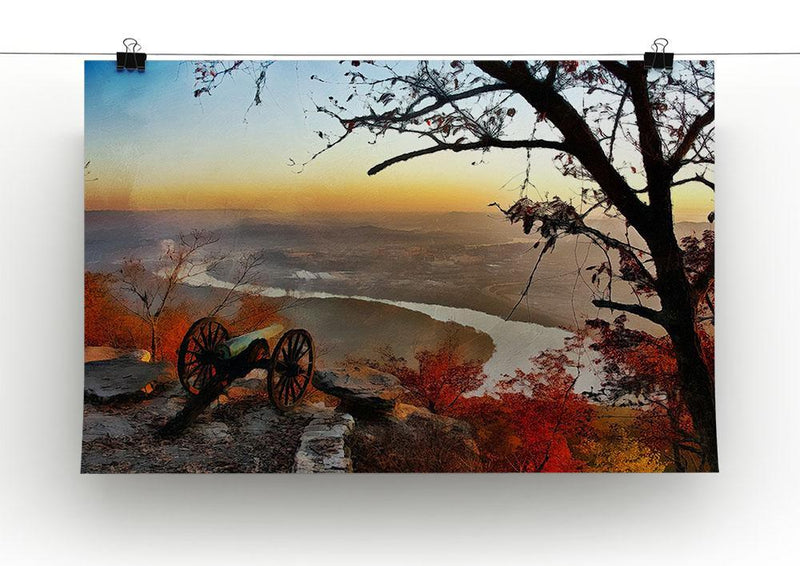 Chattanooga Campaign Painting Canvas Print or Poster - Canvas Art Rocks - 2