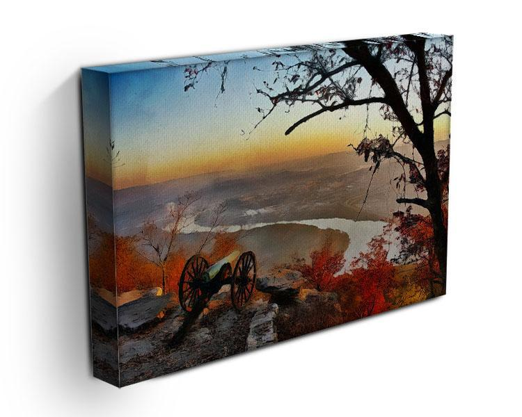 Chattanooga Campaign Painting Canvas Print or Poster - Canvas Art Rocks - 3
