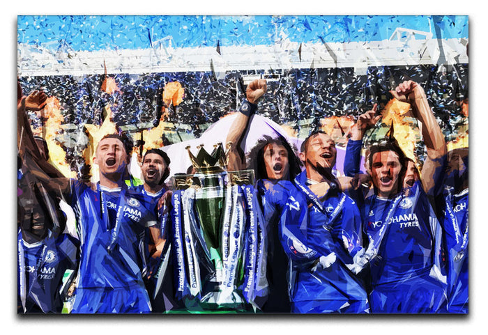 Chelsea FC Premier League Winners 2017 Canvas Print or Poster
