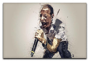 Chester Bennington Linkin Park Canvas Print or Poster  - Canvas Art Rocks - 1